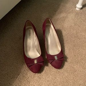Maroon Women's Wedges